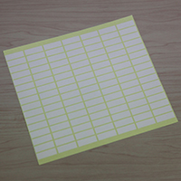 Label Sheet with 112 Name Labels